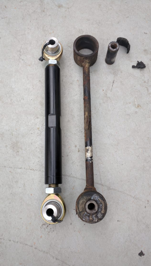 rear upper control arm comparison